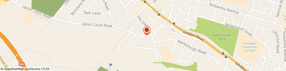 Route/map/directions to Archway Freight Services, SL3 7LZ Slough, 175 Upton Ct Rd