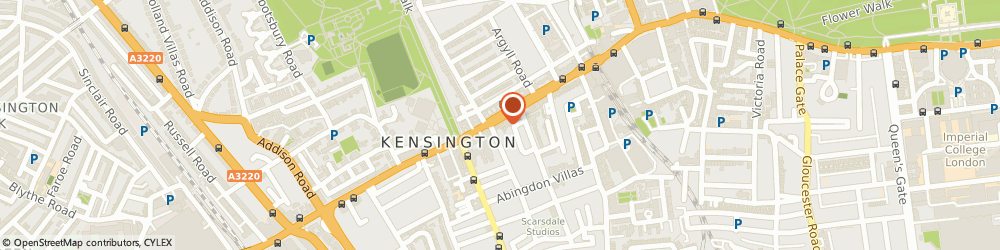 Route/map/directions to A Chain of Events Ltd, W8 6BD London, Suite 4, 219 Kensington High Street