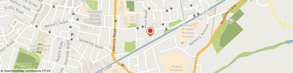 Route/map/directions to Falcon Gas and Heating Limited, UB2 4RT Southall, 98 DAMSONWOOD ROAD