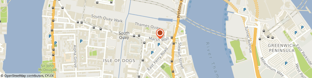 Route/map/directions to Rock Couture Productions Ltd, E14 9YT London, 7 GRAMPIAN HOUSE, MERIDIAN GATE,, 205 MARSH WALL