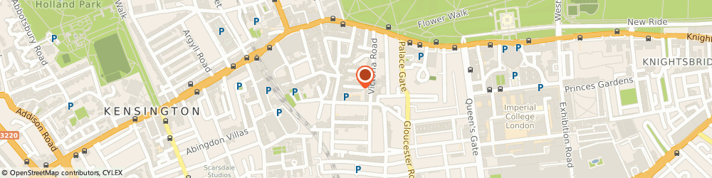 Route/map/directions to Boiler Installation Kensington, W8 5PH London, DOURO PLACE