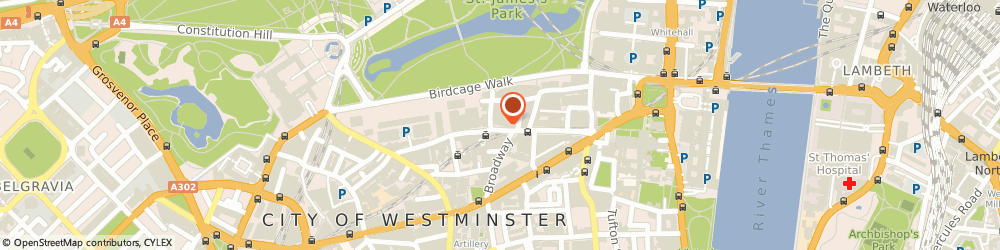 Route/map/directions to The Tony Blair Governance Initiative, SW1H 0BL London, 50 BROADWAY