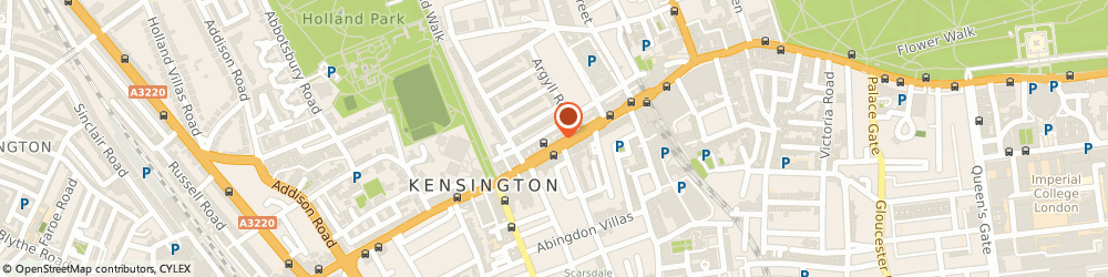 Route/map/directions to Altimus Retailers Ltd, W8 7RG London, 176 Kensington High Street
