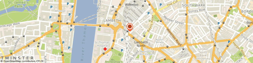 Route/map/directions to Ms Patricia Anne Danagher, SE1 7QY London, Westminster Bridge Road