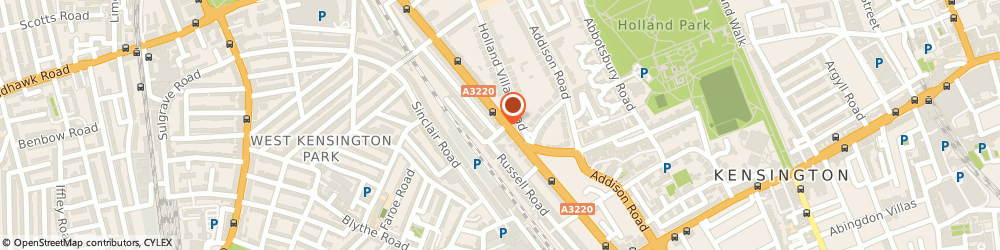 Route/map/directions to UPS Solutions Logistics, W14 8EZ London, Russell Gardens 1