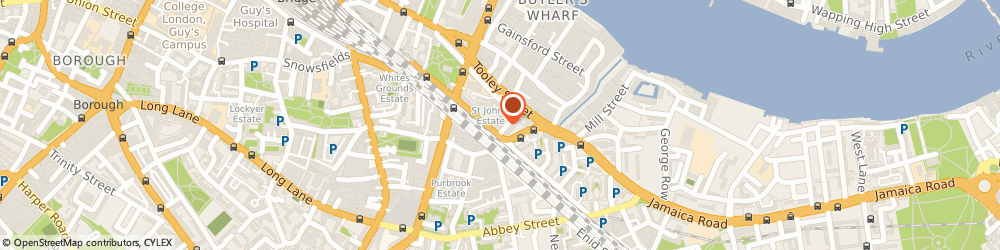 Route/map/directions to Downside Fisher Youth Club, SE1 2EZ London, Coxson Place, Druid St
