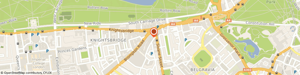 Route/map/directions to MAZ GLOBAL CONSULTANTS LIMITED, SW3 1AJ London, 14 Basil Street