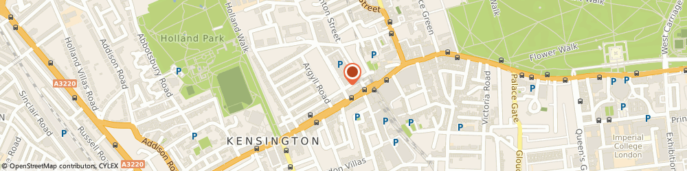 Route/map/directions to We Buy Any Car South Kensington, W8 7NX London, SABA Car Park - Kensington High Street