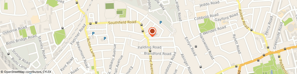 Route/map/directions to Chiswick Diy, W4 1BD London, 60 Southfield Road