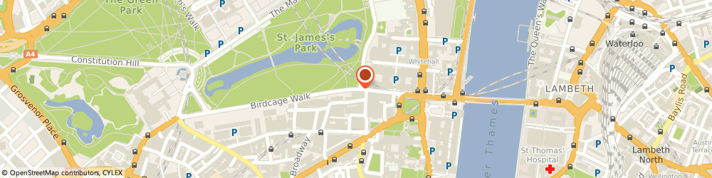 Route/map/directions to Contact International Academic Projects, SW1H 9JJ London, 1 Birdcage Walk