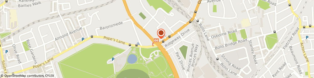 Route/map/directions to Findeven Limited, W3 9BD London, 5 PARK PARADE, GUNNERSBURY AVENUE