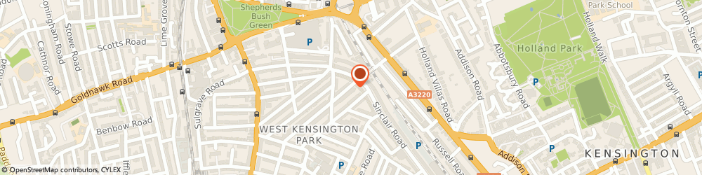 Route/map/directions to weddings made in sicily, W14 0AA London, 29 Addison gardens