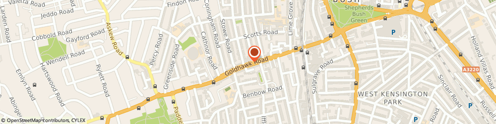 Route/map/directions to Petcare Animal Clinic, W12 8HH London, 146, GOLDHAWK ROAD