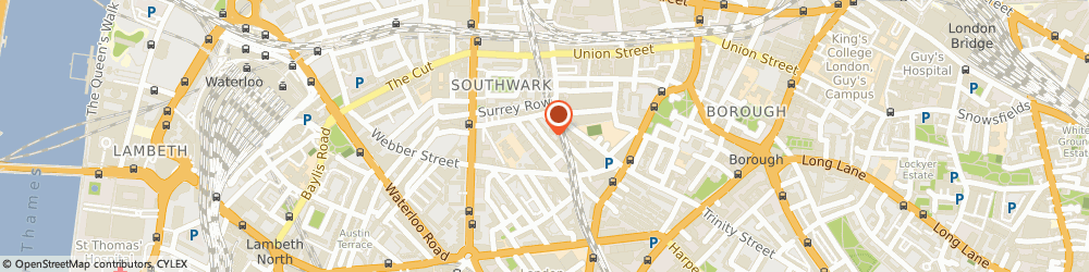 Route/map/directions to SGB, SE1 0QX London, 21 – 24 Kings Bench Street