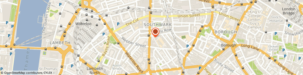 Route/map/directions to The Knot UK, SE1 8EZ London, FRIARS HOUSE, 157-168 BLACKFRIARS ROAD