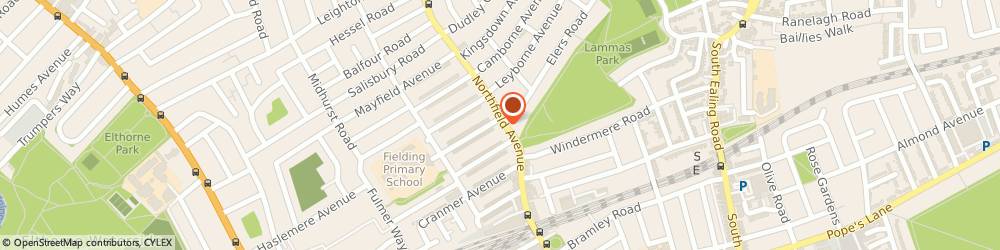 Route/map/directions to Townends Estate Agents, W13 9SB London, 140-142 Northfield Avenue