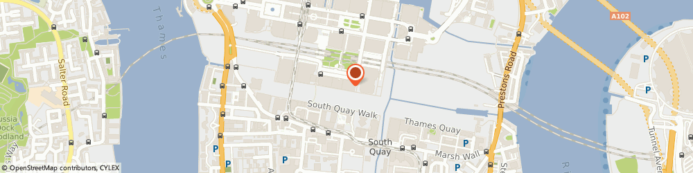 Route/map/directions to Right Management, E14 5NR London, 50 Bank St
