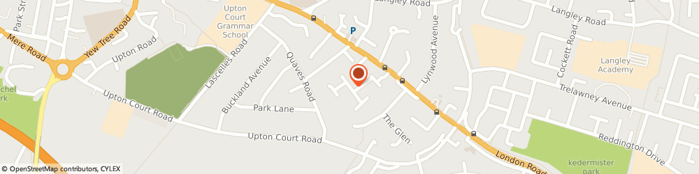 Route/map/directions to 121-143 Hurworth Avenue Share Of Freehold Company Limited, SL3 7FG Slough, 137 HURWORTH AVENUE