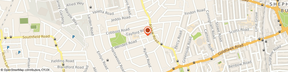 Route/map/directions to Leith S School Of Food & Wine, W12 9RT London, 16-20 Wendell Rd