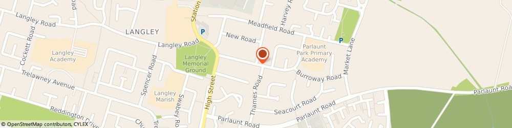 Route/map/directions to Tanner Electrical Contractors Ltd, SL3 8JQ Slough, 90 Willoughby Road