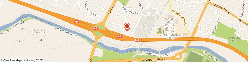 Route/map/directions to Bash Removals Ltd, SL1 2SB Slough, 134 Spackmans Way