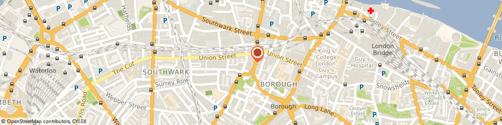 Route/map/directions to Lafoucade-Baillie Limited, SE1 0AS London, 64 SOUTHWARK BRIDGE ROAD