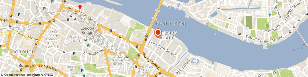 Route/map/directions to Thames Luxury Charters, SE1 2LF London, 2-7 Brewery Square, Knot House