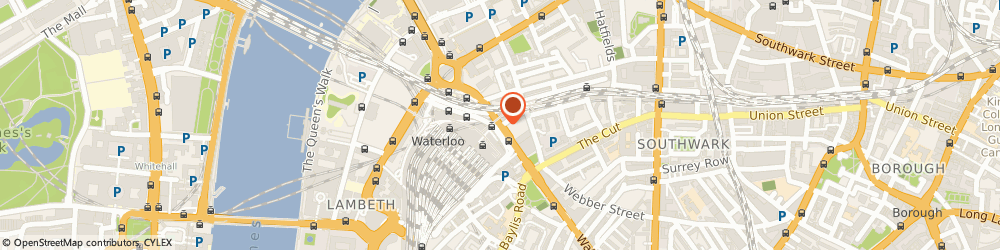 Route/map/directions to Waterloo Cars, SE1 8SQ London, 135 Mepham Street