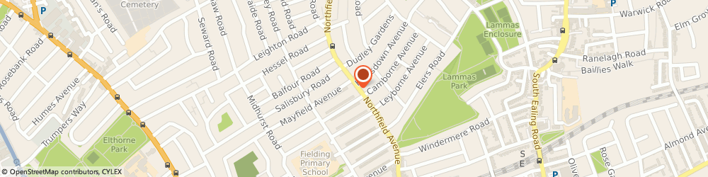 Route/map/directions to Northfield Shoe Repairs, W13 9RR London, 76 Northfield Avenue