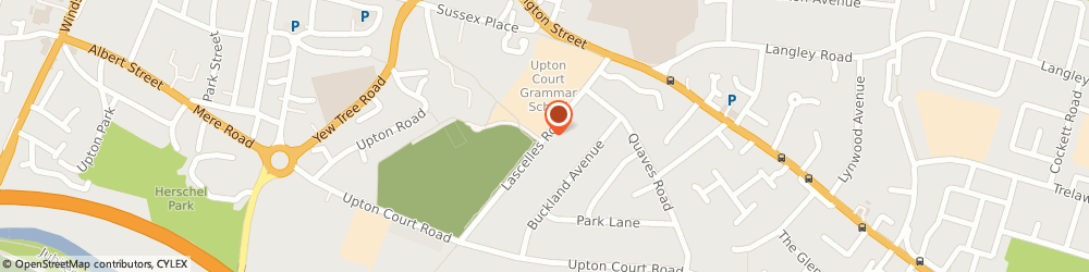 Route/map/directions to Fairfield Catering Co, SL3 7PR Slough, UPTON GRAMMAR SCH, LASCELLES RD