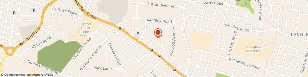 Route/map/directions to D & v Property and Investment Limited, SL3 7RR Slough, 6 RAMBLER LANE