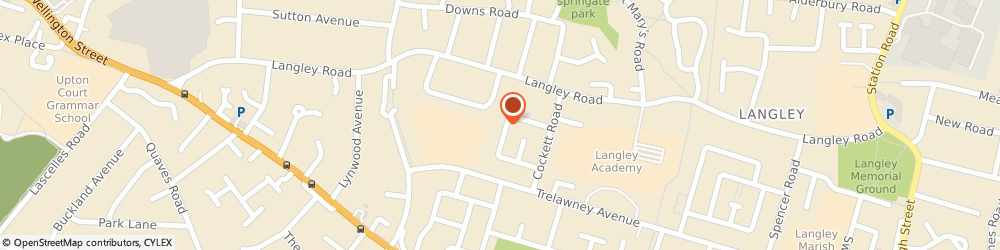 Route/map/directions to O. m. Barker Ltd, SL3 7TN Slough, 85 GOSLING ROAD, LANGLEY