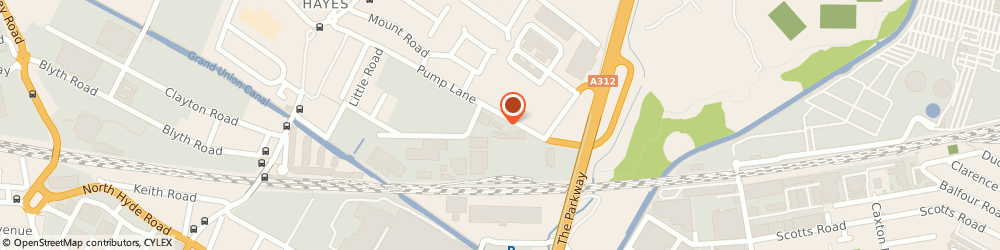 Route/map/directions to Nightingale House (Care Home) Limited, UB3 3NT Hayes, 4 PETER JAMES BUSINESS CENTRE, PUMP LANE