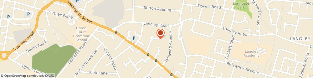 Route/map/directions to SIMPLY SWEET DESSERTS LTD., SL3 7RR Slough, 12 Rambler Lane