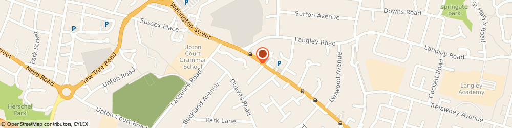 Route/map/directions to Penstone Veterinary Clinic Ltd, SL3 7HG Slough, 26, LONDON ROAD