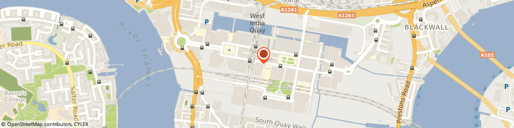Route/map/directions to Hamptons International Estate Agents Canary Wharf, E14 5EZ London, 30 South Colonnade