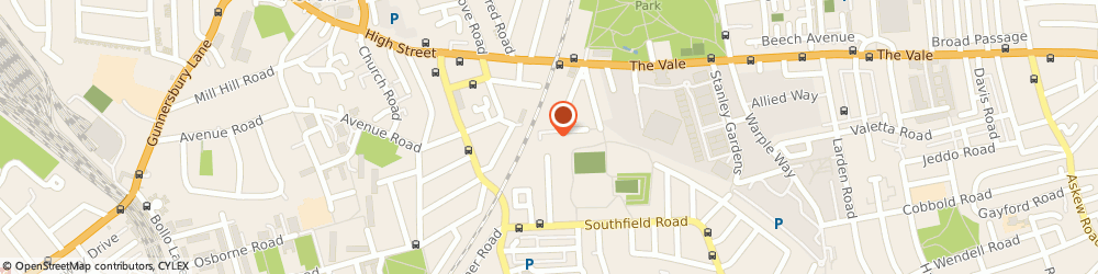 Route/map/directions to Chiswick Fencing, W4 5XF London, 137 Wilkinson Way