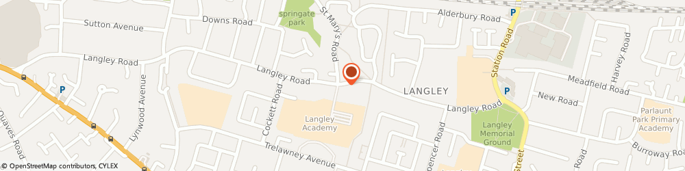 Route/map/directions to Arzum Limited, SL3 7EF Slough, 224 Langley Rd