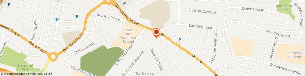 Route/map/directions to A1 Driving School, SL3 7PU Slough, 10, PALMERSTON AVENUE