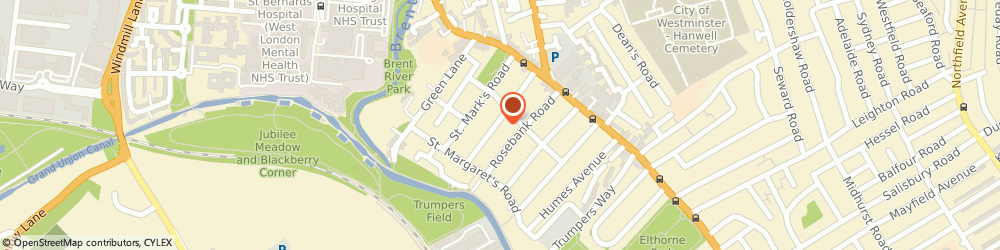 Route/map/directions to Om International, W7 2EY London, 65 St Dunstans Road