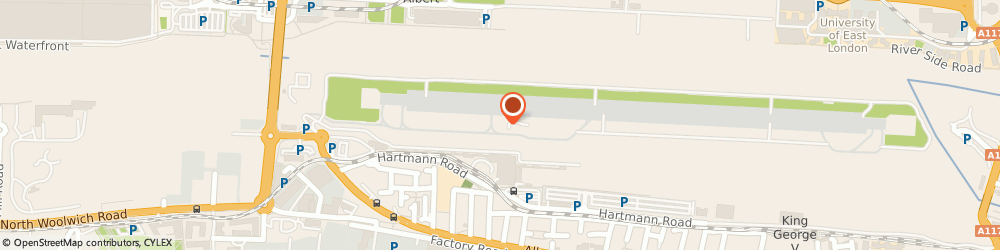 Route/map/directions to China Palace, E16 1DR London, Unit R1warehouse