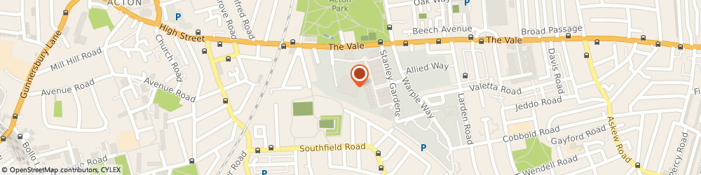 Route/map/directions to A a S Electronics, W3 7YG London, Unit 7-8, 16 Eastman Road, The Vale