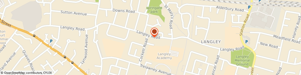 Route/map/directions to Beauty Room Of Langley, SL3 7EE Slough, 174, Langley Rd