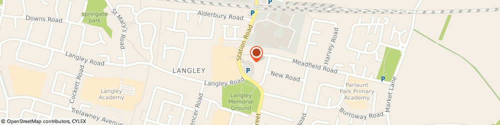 Route/map/directions to Bifolco Matty, SL3 8HJ Slough, 3 Harrow Market