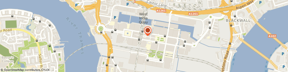 Route/map/directions to Lincoln Radley, E14 4PX London, 17 South Colonnade
