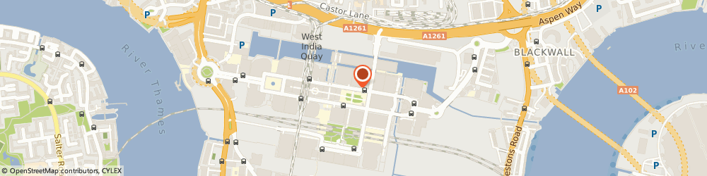 Route/map/directions to Guy Management Ltd, E14 5DY London, CANARY WHARF TOWER, CANADA SQUARE