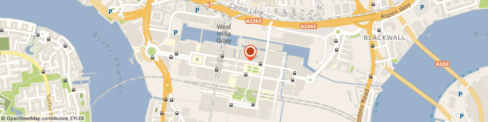 Route/map/directions to Euler Hermes Uk PLC, E14 5DX London, 1 CANADA SQUARE