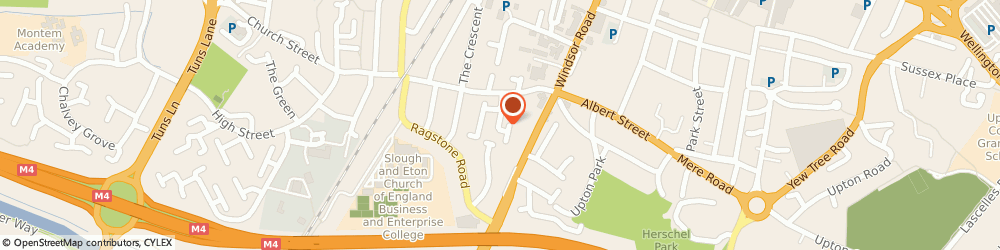 Route/map/directions to Nadco Logistics, SL1 2LT Slough, 7 Baxter close
