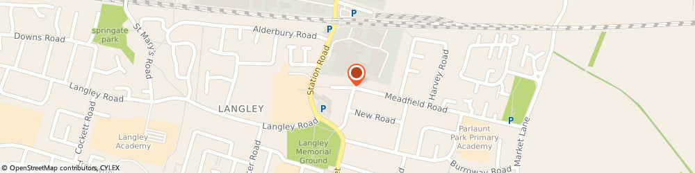 Route/map/directions to Swift Executive Cars, SL3 8HP Slough, 15 MEADFIELD AVENUE