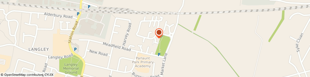Route/map/directions to Kirstie Burrows, SL3 8YB Slough, 15 MAPLIN PK